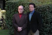 foto/IPP/Gioia Botteghi15/11/2011 Roma, Presentazione della serie tv teatrale Questi Fantasmi, nella foto Massimo Ranieri con Ennio Moricone