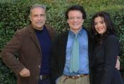 foto/IPP/Gioia Botteghi15/11/2011 Roma, Presentazione della serie tv teatrale Questi Fantasmi, nella foto Ester Botta con Enzo De Caro e Massimo Ranieri