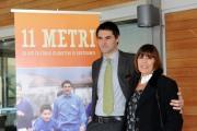 foto/IPP/Gioia Botteghi 16/11/2011 Roma, Presentazione del DVD 11 Metri, nella foto Luca Di Bartolomei e la madre Marisa