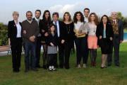 foto/IPP/Gioia Botteghi 13/12/2011 Roma, presentazione della fiction in 8 puntate per raiuno, CHE DIO CI AIUTI, nella foto :  cast e maestranze