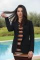 foto/IPP/Gioia Botteghi 13/12/2011 Roma, presentazione della fiction in 8 puntate per raiuno, CHE DIO CI AIUTI, nella foto : Francesca Chillemi
