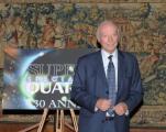 foto/IPP/Gioia Botteghi 15/12/2011 Roma, Presentazione delle tre nuove serie di Super quark, per raiuno e celebrazione dei trenta anni della trasmissione, nella foto: Piero Angela