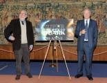 foto/IPP/Gioia Botteghi 15/12/2011 Roma, Presentazione delle tre nuove serie di Super quark, per raiuno e celebrazione dei trenta anni della trasmissione, nella foto: Piero Angela Danilo Mainardi