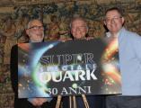 foto/IPP/Gioia Botteghi 15/12/2011 Roma, Presentazione delle tre nuove serie di Super quark, per raiuno e celebrazione dei trenta anni della trasmissione, nella foto: Piero Angela Danilo Mainardi,  Marco Visalberghi