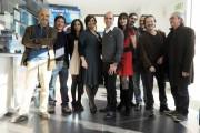 Foto/IPP/Gioia Botteghi Roma 28/12/2010 presentazione del film Che bella giornata, nella foto Checco Zalone ed il cast