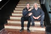Foto/IPP/Gioia Botteghi 11/01/2012  presentazione del film L'era Legale, nella foto il regista Enrico Caria e l'attore principale Patrizio Rispo