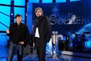 foto/IPP/Gioia Botteghi 12/01/2012 Roma, Gianni Morandi e al gruppo d'ascolto – composto dal Direttore Artistico Gianmarco Mazzi