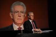 Foto/IPP/Gioia Botteghi 22/01/2012 Lucia Annunziata intervista Mario Monti
