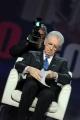 Foto/IPP/Gioia Botteghi 1/02/2012 Matrix intervista a Mario Monti