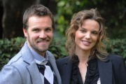 foto/IPP/Gioia Botteghi 8/02/2012 Roma,  Presentazione della fiction di raiuno IL GENERALE DEI BRIGANTI, nella foto: Danilo Brugia e Christiane Filangieri