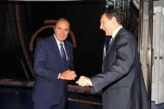 foto:IPP/Gioia Botteghi 20/09/2012 Roma porta a porta Vespa con il direttore generale della rai Luigi Gubitosi