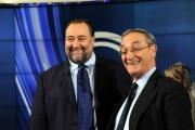 foto:IPP/Gioia Botteghi 20/09/2012 Roma porta a porta ospite Franco Fiorito con l'avvocato Carlo Taormina