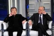 foto/IPP/Gioia Botteghi 20/02/2012 Roma,   Enzo Ghinazzi  e Mauro Mazza ospite di porta a porta