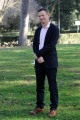 foto/IPP/Gioia Botteghi 23/02/2012 Roma,   presentazione del film Un Giorno questo Dolore Ti Sarà Utile, nella foto Peter Cameron autore del libro