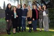 foto/IPP/Gioia Botteghi 24/02/2012 Roma,   presentazione della fiction di raiuno Walter Chiari, nella foto: il cast con il produttore Barbareschi