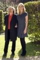 foto/IPP/Gioia Botteghi 8/03/2012 Roma,  presentazione de programma di raitre Robinson, nella foto la conduttrice Luisella Costamagna e Antonio Cornacchione