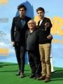 foto/IPP/Gioia Botteghi 9/03/2012 Roma,  presentazione del film Lorax, nella foto Zac Efron, Danny De Vito, Marco Mangoni