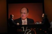 Foto/IPP/Gioia Botteghi 11/03/2012 trasmissione di raitre in mezz'ora ospite di Lucia Annunziata Renato Schifani