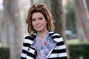 foto/IPP/Gioia Botteghi 12/03/2012 Roma,  presentazione della trasmissione 1_2_3_stella per la7 nella foto: Sabina Guzzanti