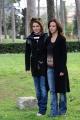 foto/IPP/Gioia Botteghi 12/03/2012 Roma,  presentazione della trasmissione 1_2_3_stella per la7 nella foto: Caterina e Sabina Guzzanti