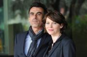foto/IPP/Gioia Botteghi   23/03/2012 Roma,  presentazione della fiction di raiuno Mai per amore, nella foto: Barbora Bobulova e Thomas Trabacchi