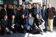 foto/IPP/Gioia Botteghi   26/03/2012 Roma,  presentazione del film ROMANZO DI UNA STRAGE, nella foto:  il cast con il regista Marco Tullio Giordana