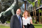 foto/IPP/Gioia Botteghi 28/3/2012 Roma presentazione di TG 2 INSIEME, nella foto: Marcello Masi Emanuela Moreno.