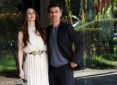 foto/IPP/Gioia Botteghi   30/03/2012 Roma,  presentazione della fiction di raiuno MARIA DI NAZARET, nella foto: Paz Vega e Thomas Trabacchi