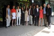 foto/IPP/Gioia Botteghi   30/03/2012 Roma,  presentazione della fiction di raiuno MARIA DI NAZARET, nella foto:  il regista Giacomo Campiotti ed il cast