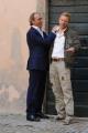 foto/IPP/Gioia Botteghi   02/04/2012 Roma,  presentazione della fiction di mediaset LE TRE ROSE, nella foto: Luca Ward e Kaspar Capparoni