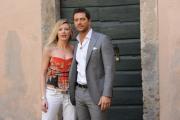 foto/IPP/Gioia Botteghi   02/04/2012 Roma,  presentazione della fiction di mediaset LE TRE ROSE, nella foto: Luca Capuano e Licia Nunez