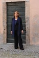 foto/IPP/Gioia Botteghi   02/04/2012 Roma,  presentazione della fiction di mediaset LE TRE ROSE, nella foto: Paola Pitagora