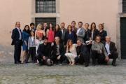 foto/IPP/Gioia Botteghi   02/04/2012 Roma,  presentazione della fiction di mediaset LE TRE ROSE, nella foto: tutto il cast ed i registi Raffaele Mertes e Vincenzo Verdecchi