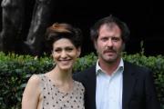 foto/IPP/Gioia Botteghi   03/04/2012 Roma,  presentazione della fiction rai Nero Wolfe, nella foto:  Pietro Sermonti, Giulia Bevilacqua