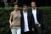 foto/IPP/Gioia Botteghi   03/04/2012 Roma,  presentazione della fiction rai Nero Wolfe, nella foto: Francesco Pannofino, Pietro Sermonti, Giulia Bevilacqua