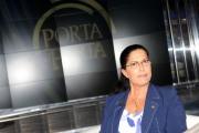 foto/IPP/Gioia Botteghi   10/04/2012 Roma, porta a porta10_04_2012 con Rosy Mauro