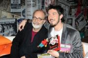 foto: Gioia Botteghi/IPP Roma, 16 aprile 2012. Rai,trasmissione di raidue STRACULT, nella foto: Paolo Ruffini e Marco Giusti