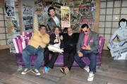 foto: Gioia Botteghi/IPP Roma, 16 aprile 2012. Rai,trasmissione di raidue STRACULT, nella foto: Paolo Ruffini, Marco Giusti, Lallo Circosta, Andrea Perroni, G-Max, Francesco Scimemi