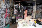 foto: Gioia Botteghi/IPP Roma, 16 aprile 2012. Rai,trasmissione di raidue STRACULT, nella foto: Paolo Ruffini il presentatore