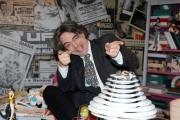 foto: Gioia Botteghi/IPP Roma, 16 aprile 2012. Rai,trasmissione di raidue STRACULT, nella foto:  Francesco Scimemi