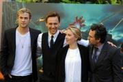 foto: Gioia Botteghi/IPP Roma, 21 aprile 2012. presentazione del film Avengers, nella foto: Scarlett Johansson, Chris Hemsworth, Mark Ruffalo,Tom Hiddleston