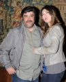 foto: Gioia Botteghi/IPP Roma, 27 aprile 2012. presentazione del concerto del primo maggio a Roma, nella foto: Virginia Raffaele, Francesco Pannofino
