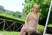 """foto: Gioia Botteghi/IPP Roma, 26a prile 2012. presentazione del programma di raiuno MI GIOCO LA NONNA"""" Elisa Silvestrin"""