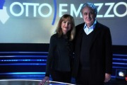 foto: Gioia Botteghi/IPP Roma, 30 aprile 2012. Michele Santoro ospite di Lilli Gruber alla sette