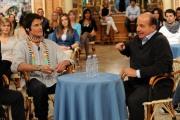 foto: Gioia Botteghi/IPP Roma, 2 maggio 2012. programma di raidue I fatti vostri, ospite Ron Moss e Giancarlo Magalli