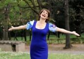foto/IPP/Gioia Botteghi   05/04/2012 Roma,  presentazione della fiction di mediaset Benvenuti a tavola, nella foto: Lorenza Indovina