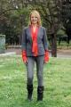 foto/IPP/Gioia Botteghi   05/04/2012 Roma,  presentazione della fiction di mediaset Benvenuti a tavola, nella foto:  Debora Villa
