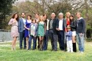 foto/IPP/Gioia Botteghi   05/04/2012 Roma,  presentazione della fiction di mediaset Benvenuti a tavola, nella foto: il cast con il regista Francesco Miccichè