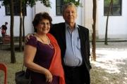 foto:IPP/Gioia Botteghi Roma 06/06/2012 Festival delle letterature 2012, nella foto AMOS OZ  con la moglie Lilly