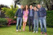 foto: Gioia Botteghi/IPP Roma, 7 maggio 2012. programma di raidue Italia COAST2COAST, nella foto: il trio Medusa e Laura Barriales e l'autore Stefano Sarcinelli